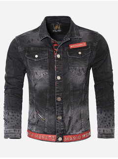 Wam Denim Denim Jacket 2070 201 A28 Black