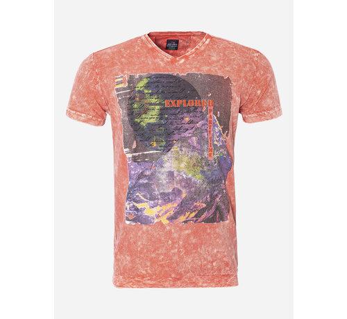 Wam Denim T-Shirt 10 Orange