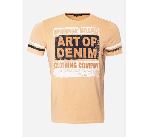 Wam Denim T-shirt 8 Oranje