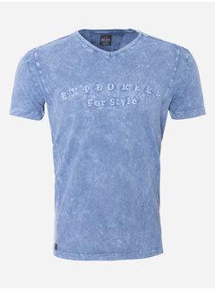 Wam Denim T-Shirt 173 Blauw