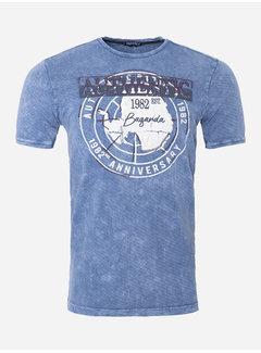 Wam Denim T-Shirt 178 Blauw