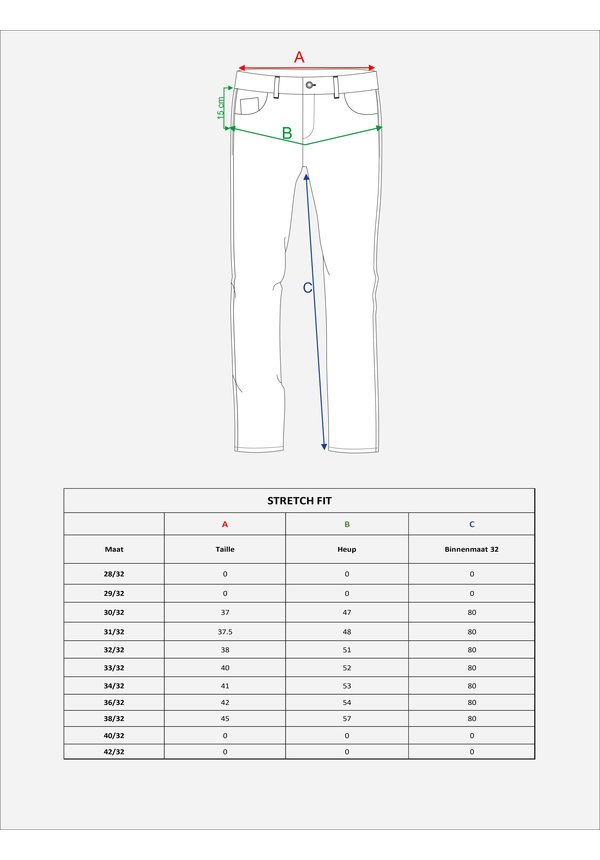 Jeans Vito Grey