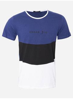 Wam Denim T-Shirt 121 Blauw