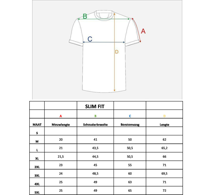 T-Shirt 121 Blauw