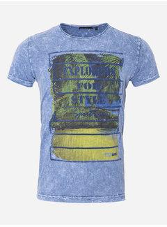 Wam Denim T-Shirt 197 Blauw