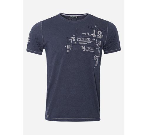 Wam Denim T-Shirt 200 Dark Navy