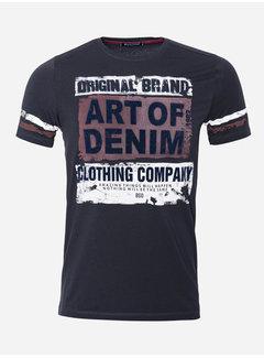 Wam Denim T-Shirt 201 Zwart