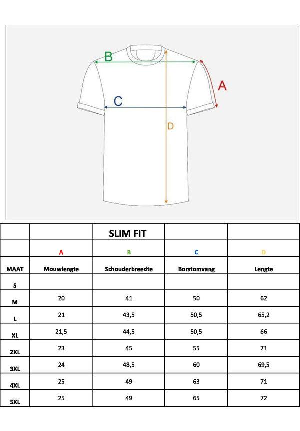 T-Shirt 201 Zwart