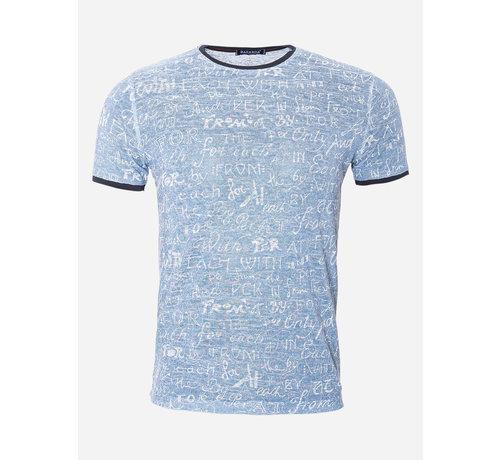 Wam Denim T-Shirt 212 Blue