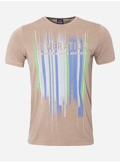 Wam Denim T-Shirt 26 Brown