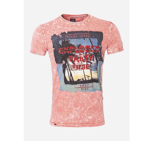 Wam Denim T-Shirt 28 Oranje