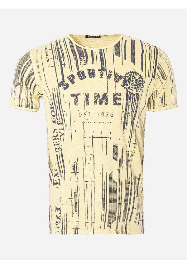 T-Shirt 33 Geel
