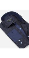 Overhemd Lange Mouw 65029 Dark Navy
