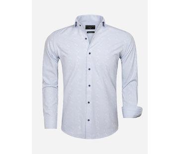 Gaznawi Overhemd Lange Mouw 65029 Forli Light Blue