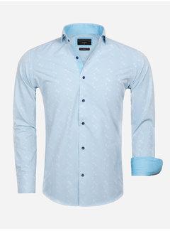 Gaznawi Shirt Long Sleeve 65029 Forli Light Turquoise
