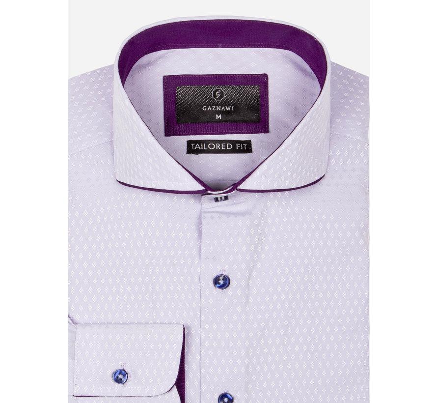 Overhemd Lange Mouw 65031 Light Purple
