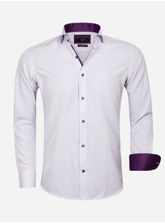 Gaznawi Overhemd Lange Mouw 65031 Light Purple