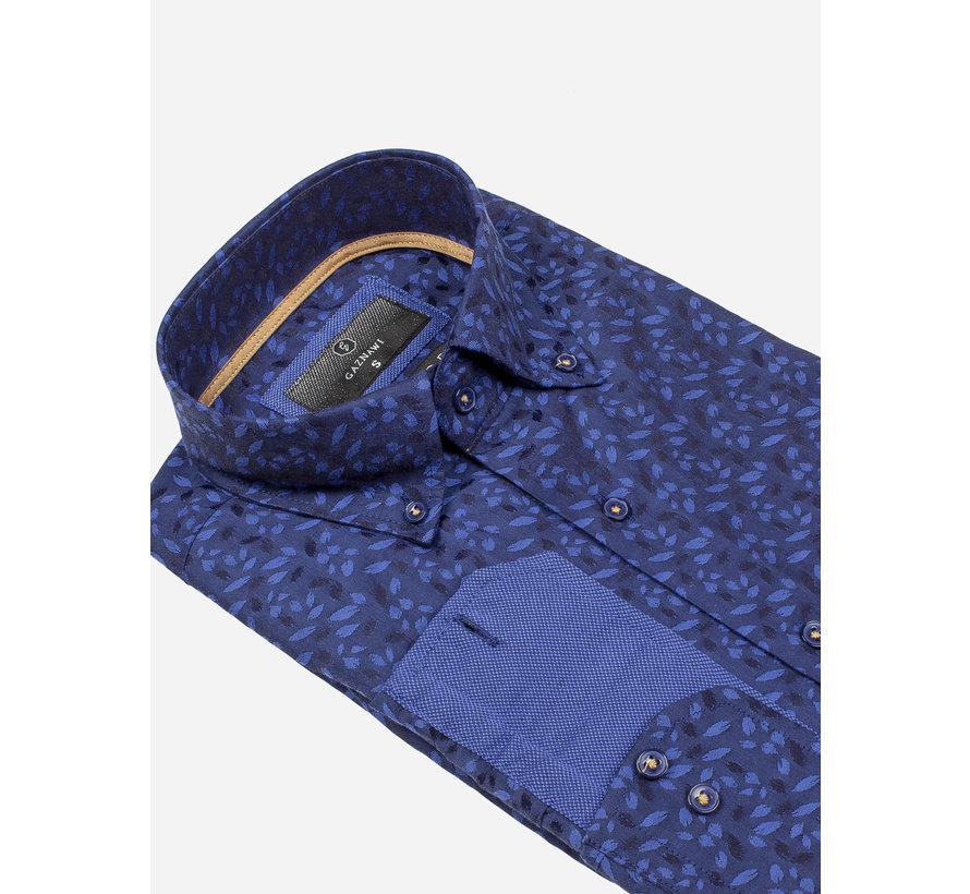 Overhemd Lange Mouw 65034 Dark Navy