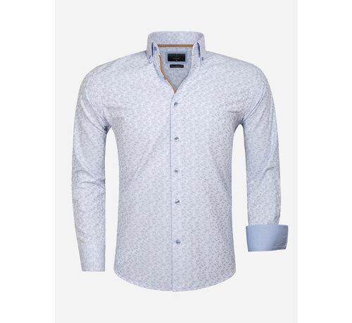 Gaznawi Overhemd Lange Mouw 65034 Light Blue