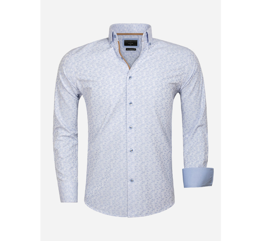 Overhemd Lange Mouw 65034 Light Blue