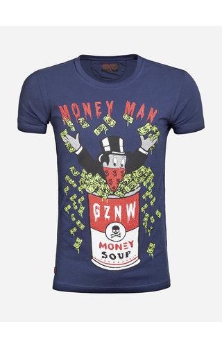 Gaznawi T-Shirt 69102 Peoria Navy