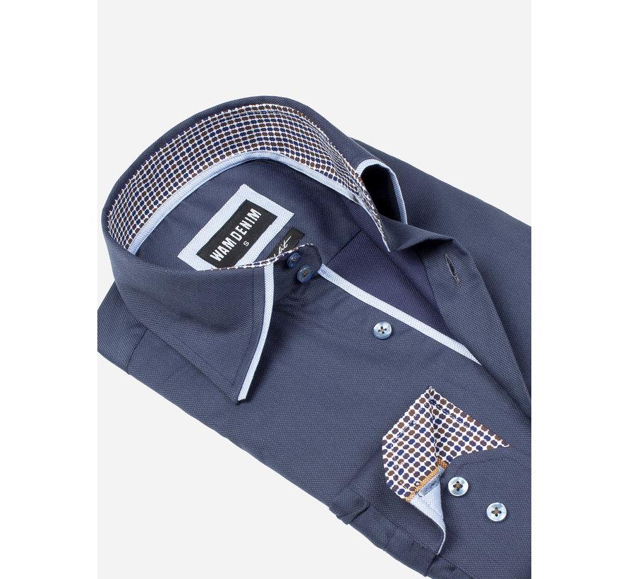 Overhemd Lange Mouw 75559 Isernia Anthracite