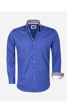 Wam Denim Overhemd Lange Mouw 75559 Isernia Navy