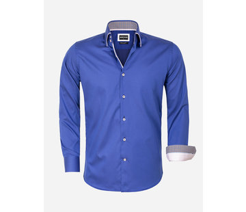 Wam Denim Shirt Long Sleeve 75559 Isernia Navy