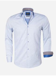 Wam Denim Shirt Long Sleeve 75559 Isernia Blue