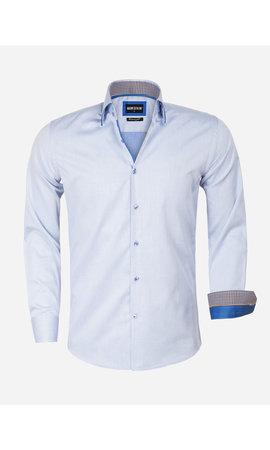 Wam Denim Overhemd Lange Mouw 75559 Isernia Blue