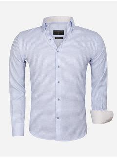 Gaznawi Shirt Long Sleeve 65021 Ancona Blue