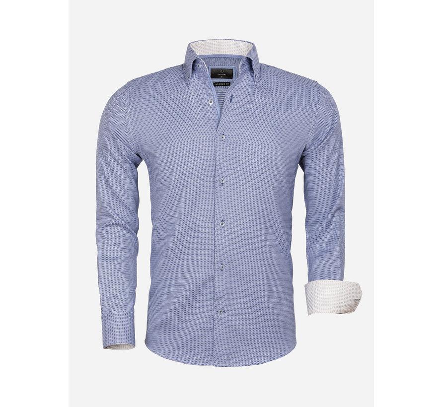 Shirt Long Sleeve 65021 Ancona Navy