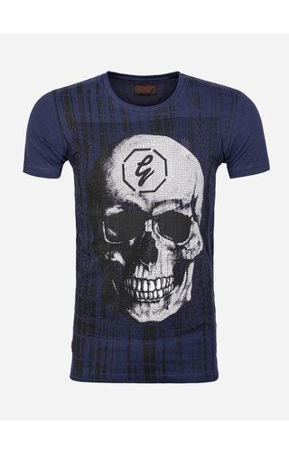 Gaznawi T-Shirt 69106 Burbank Navy