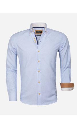 Gaznawi Overhemd Lange Mouw 65023 L'Aquila Blue