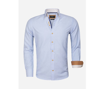Gaznawi Shirt Long Sleeve 65023 L'Aquila Blue