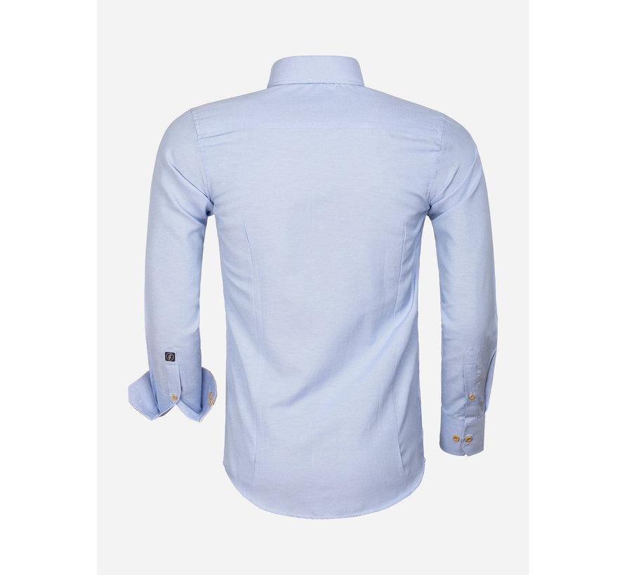 Overhemd Lange Mouw 65023 L'Aquila Blue