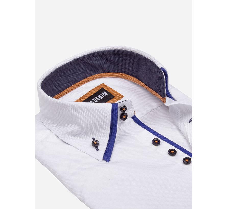 Overhemd Korte Mouw 75557 White