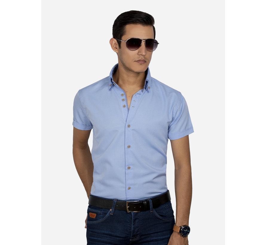 Shirt Short Sleeve 65018 Aeolian Blue