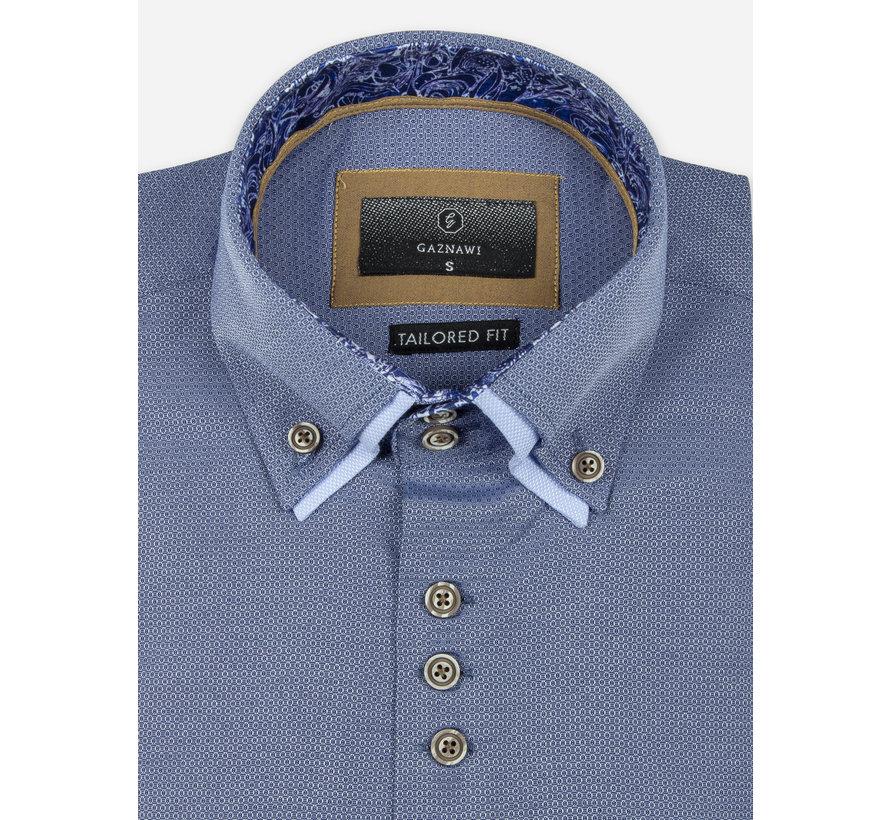 Shirt Short Sleeve 65018 Aeolian Dark Navy