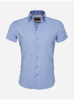 Gaznawi Shirt Short Sleeve 65018 Aeolian Blue