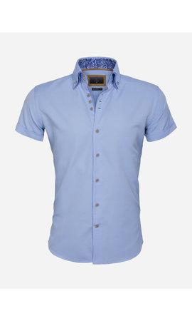 Gaznawi Overhemd Korte Mouw 65018 Aeolian Blue