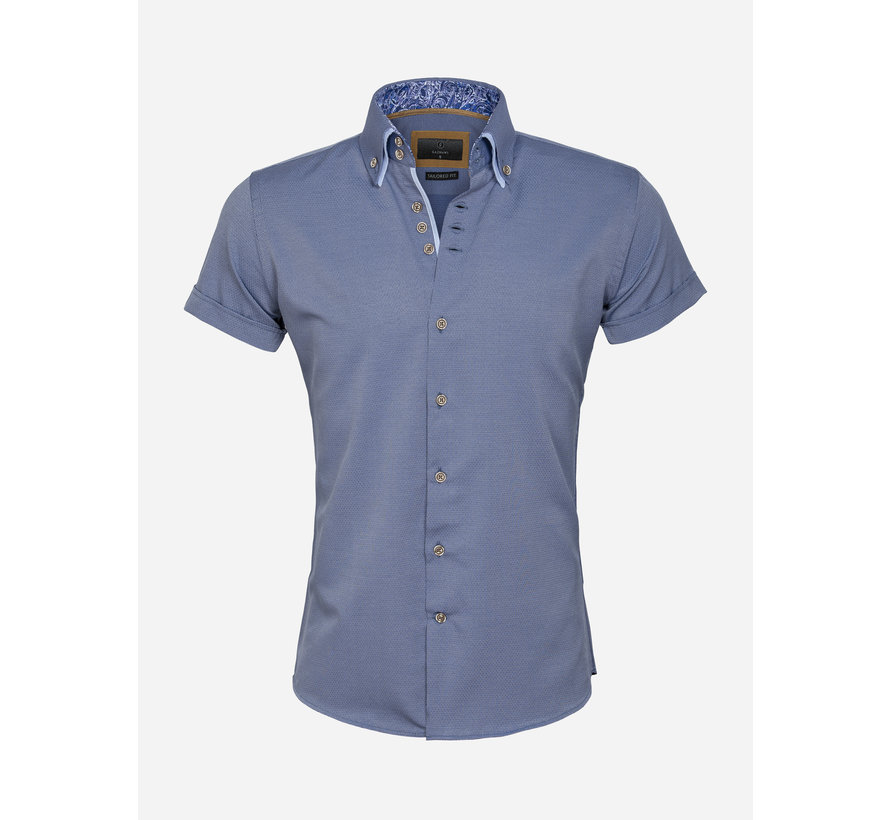 Overhemd Korte Mouw 65018 Aeolian Navy