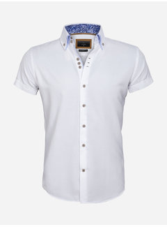 Gaznawi Shirt Short Sleeve 65018 Aeolian White