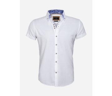 Gaznawi Overhemd Korte Mouw 65018 Aeolian White