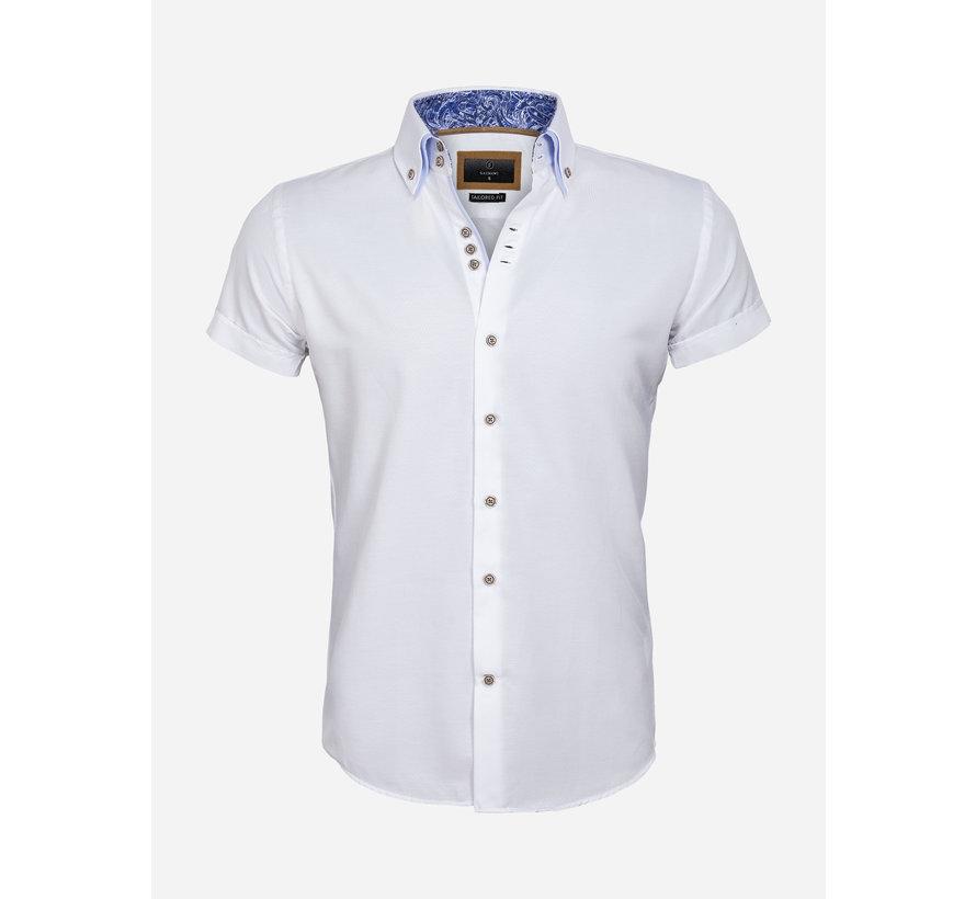 Shirt Short Sleeve 65018 Aeolian White