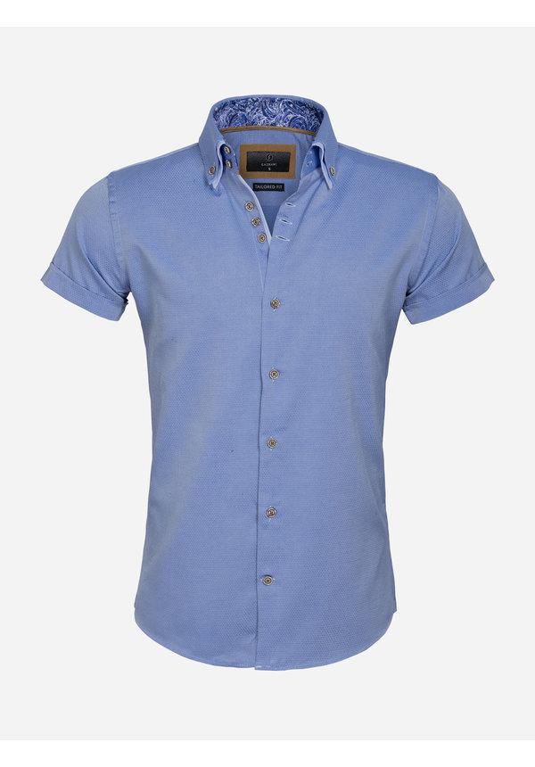 Overhemd Korte Mouw 65018 Aeolian Royal Blue