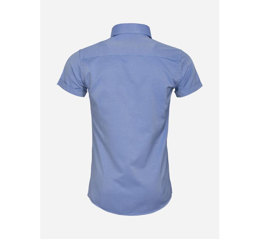 Shirt Short Sleeve 65018 Aeolian Royal Blue