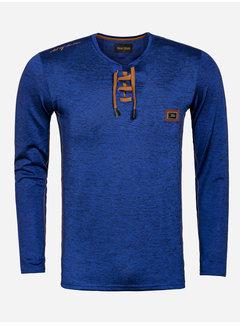 Wam Denim Sweater 76192 Elk Grove Royal Blue