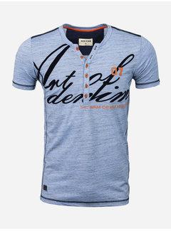 Wam Denim T-Shirt Salem Royal Blue