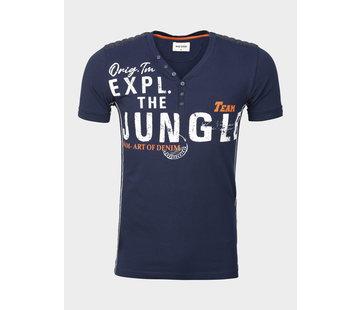 Wam Denim T-Shirt Coppet Navy